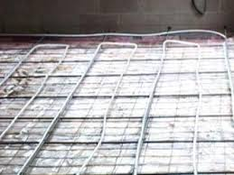 Heated Bathroom Floor Cost Interesting Radiant Floor Heating Basics DIY