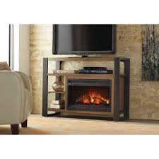 a console infrared modern electric fireplace in um ash finish