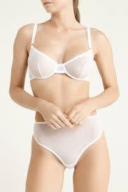 Высокие <b>белые стринги</b> Basic PETRA – купить в интернет ...