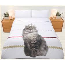 Single Bed Cat Quilt Cover Set   Crazy Sales & Single Bed Cat Quilt Cover Set Adamdwight.com