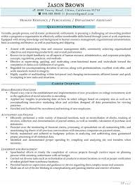 Human Resources Assistant Resume Examples Beauteous Sample Hr Assistant Resumes Goalgoodwinmetalsco