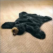 faux bear rug marvelous white bear rug bear rug fake fake bear skin rug bear rug