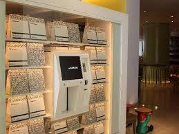 Huge Vending Machine Classy Big Vending Machine In Hotel Lobby Picture Of Asia De Cuba London
