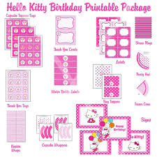 Printable Hello Kitty Invitations Personalized Hello Kitty Template Free Kadil Carpentersdaughter Co