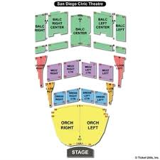 23 Problem Solving Sd Civic Theater Seating Chart