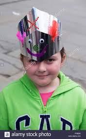 Blackburn, Uk. 23rd April, 2016. 7 Year old Sophie Porter shows off Stock  Photo - Alamy
