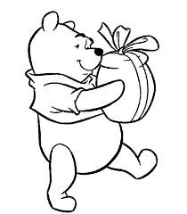 Disegni Da Colorare Winnie The Pooh Con Regalo Disegni Da Colorare