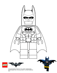 Small Picture Lego Batman movie Batman coloring page Legos Pinterest