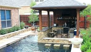 outdoor kitchen plans with green egg and gas grill build diy engaging your residence concept architectures