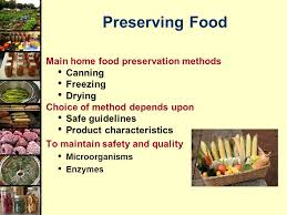 Food Preservation Chart Food Preservation Canning Basics Ppt Video Online Download