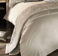 mirella ivory 150cm x 220cm quilted throw by kylie minogue at home