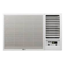 air conditioning window. lg electronics 18,000 btu 230/208-volt window air conditioner with cool, heat and remote-lw1815hr - the home depot conditioning n