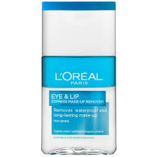 l oréal paris skin cleansing eye lip make up remover 125 ml