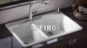 Cast Iron Kitchen Sinks Youtube