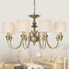 european vintage 3 lights single tier chandelier ceiling lights antique brass chandeliers lamp shade metal lighting for home deco contemporary pendant light