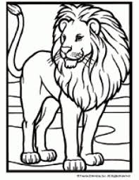 Small Picture Animal Coloring Pages LionsColoringPrintable Coloring Pages Free