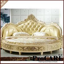 round king size bed modern elegant noble style king size round bed king size bed