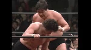 Genichiro Tenryu vs Jumbo Tsuruta (April 16, 1982) - YouTube