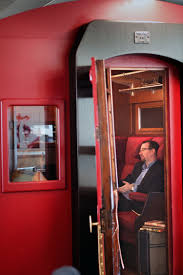 rackspace office morgan lovell. Tube Carriage Converted Into A Soundproof Meeting Room / Design And Fit Out By Morgan Lovell Rackspace Office