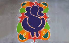 ganesha rangoli design ganpati rangoli designs for diwali ganesha diwali rangoli