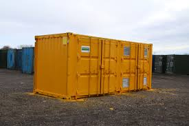 20ft container converted into 50-50 COSHH store / Rigging Storage