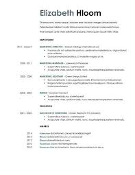 Resume Template For Google Docs Gorgeous 48 Google Docs Resume Templates [48% Free]