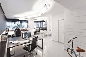 white office design. Simple White Fresh And Motivating Office Interior Designs  For White Office Design G