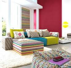 Colorful Living Room Furniture Sets Interior Impressive Inspiration Design