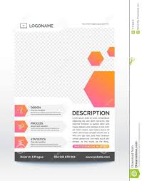 Informational Poster Sample Layout Modern Business Flyer Template Creative And Fresh Layout