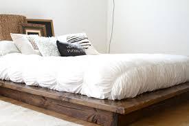 image of low platform bed frames