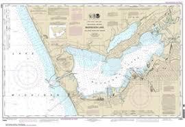 Lake Michigan Nautical Chart 14934 Muskegon Lake Including Muskegon Harbor Nautical Chart