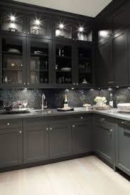 Exellent Dark Kitchen Cabinets Colors Gray My Dream Gorgeous On Design Inspiration