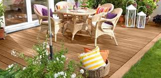 how to build a wood terrace deck step