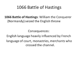 english literature history of english ppt  10 1066