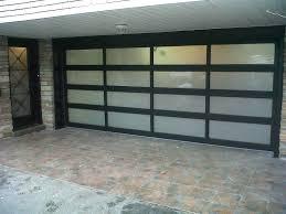 glass garage door insulated garage doors contemporary wood opaque glass aluminum full overhead s glass garage door