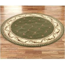 circular woven rug round braided
