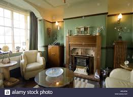 art deco living room. Refurbished Art Deco Nouveau 1930 S House Interior Lounge Living Room R