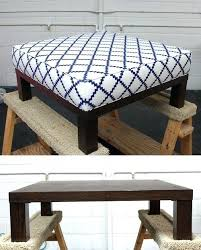 coffee table into ottoman coffee table turned into ottoman ottoman turn a end table coffee table into ottoman