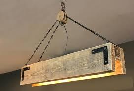 rectangular wood chandelier rectangular chandelier rustic wood reclaimed wood chandelier with pulley rustic 7 light wood