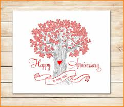 Template Anniversary Card Word Anniversary Card Template Cumed Org