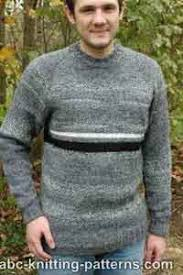Mens Sweater Knitting Pattern Magnificent Over 48 Free Knitting Patterns For Men At AllCraftsnet