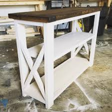 Shabby Chic White Coffee Table Rustic Home Decor Ana White Diy Shanty 2 Chic Rustic