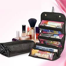 contemporary hanging cosmetic organizer travel bag makeup case pouch wall toiletry storage bed bath and beyond australium with mirror canada