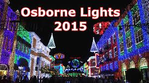 Osborne Family Lights Disney 2015 Osborne Family Spectacle Of Dancing Lights Tour Disneys Hollywood Studios Christmas Holiday