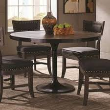 donny osmond home mayberry rustic dining table with nailhead banding coaster fine furniture
