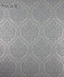 Blauw Barok Behang Swiet Moois Op De Muur Designer Wallpaper