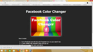 now follow this step to change facebook background color from this step 1 the facebook color changer from chrome play