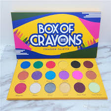 box of crayons eyeshadow makeup palette ishadow crayola eye shadow the crayon case waterproof shimmer matte eyeshadow cosmetics eye primer from beauy