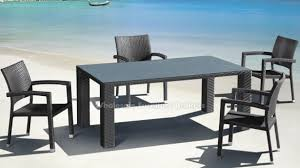 modern outdoor table and chairs. Modern Outdoor Dining Set Elegant Best Table And Chairs Ticari Rectangular In 14 C