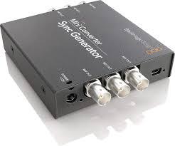 Blackmagic Design Convcmic Sh Wpsu Blackmagic Design Mini Converter Sync Generator Convmsync